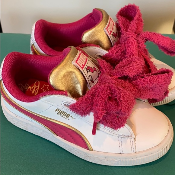 Puma Shoes | Kids Puma Fluffy Unicorn Sneakers Excellent | Poshmark